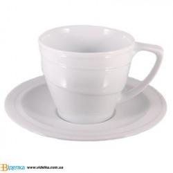 Чашка  с блюдцем, 0,1 л BergHOFF 1690216 Hotel