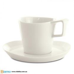 Чашка для кофе Eclipse, с блюдцем, 0,18 л, 2 шт./уп 3700432 BergHOFF
