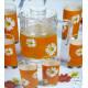 Набор для воды 7пр Luminarc Paquerette Melon G1980